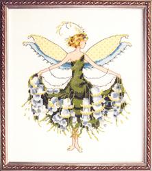 Borduurpatroon Lily of the Valley - Mirabilia Designs
