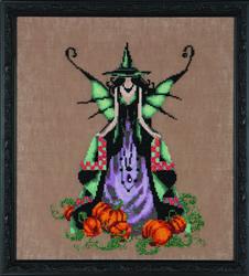 Borduurpatroon Bewitching Collection - Luna - Mirabilia Designs