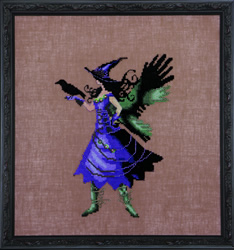 Borduurpatroon Bewitching Collection - Cleo - Mirabilia Designs
