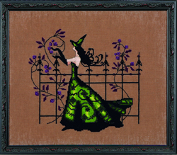 Borduurpatroon Bewitching Collection - Gwen - Mirabilia Designs