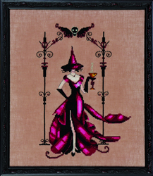 Borduurpatroon Bewitching Collection - Zenia - Mirabilia Designs