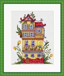 Borduurpakket Spring House - Merejka