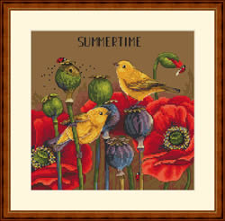 Borduurpakket Summertime - Merejka