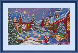 Borduurpakket The Christmas Gift - Merejka