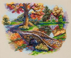 Borduurpakket Autumn Landscape - Merejka