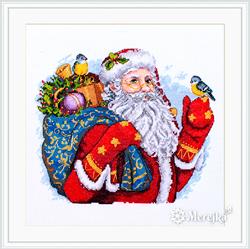 Borduurpakket Merry Christmas! - Merejka