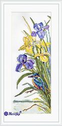 Borduurpakket Kingfisher - Merejka