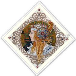 Borduurpakket Blond by Mucha - Merejka