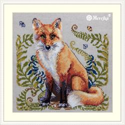 Borduurpakket The Fox - Merejka