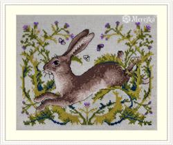 Borduurpakket The Hare - Merejka