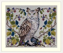 Borduurpakket The Owl - Merejka