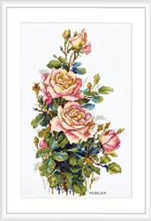 Borduurpakket Yellow Roses - Merejka