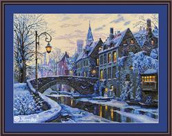 Borduurpakket Winter Evening - Merejka