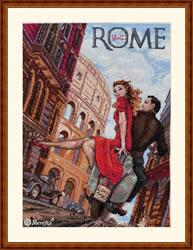 Borduurpakket Visit Rome - Merejka