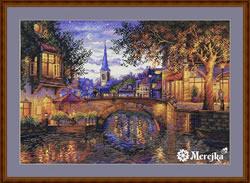 Borduurpakket Twilight Reflection - Merejka
