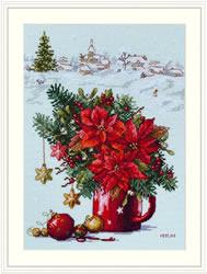 Borduurpakket Happy Holiday - Merejka