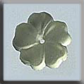 Glass Treasures 5 Petal Flower-Matte Jonquil - Mill Hill