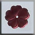 Glass Treasures 5 Petal Flower-Matte Rose - Mill Hill