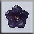 Glass Treasures 5 Petal Dim Flower-Amethyst Moon - Mill Hill