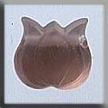 Glass Treasures Medium Tulip-Matte Rosaline - Mill Hill
