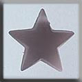 Glass Treasures Large Domed Star-Matte Rosaline - Mill Hill