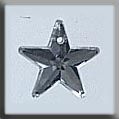 Glass Treasures 5 Pointed Star-Crystal - Mill Hill