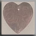 Glass Treasures Cameo Heart-Matte Rosaline - Mill Hill