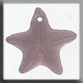Glass Treasures Starfish 15mm Matte Rosaline - Mill Hill