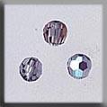 Crystal Treasures Round Bead-Black Diamond AB - Mill Hill