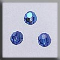 Crystal Treasures Round Bead-Sapphire AB - Mill Hill