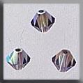 Crystal Treasures Rondele-Black Diamond 2XAB - Mill Hill