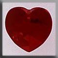 Crystal Treasures Medium Heart-Siam - Mill Hill