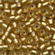 Pony Beads 6/0 Frosted Gold - Mill Hill