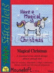 Borduurpakket Magical Christmas - Mouseloft