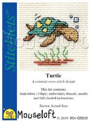 Borduurpakket Turtle - Mouseloft