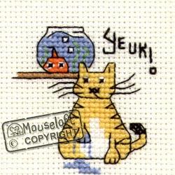 Borduurpakket Yeuk! - Mouseloft