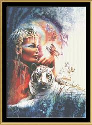 Borduurpatroon Empress - Mystic Stitch