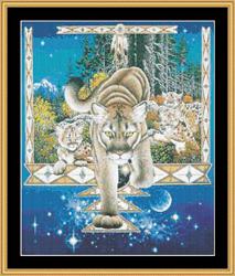 Borduurpatroon Rocky Mountain - Mystic Stitch