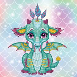 Diamond Dotz Ariel the Baby Dragon - Needleart World