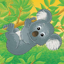 Diamond Dotz Koala climb - Needleart World
