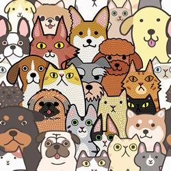 Diamond Dotz Dogs & DOTZ - Needleart World