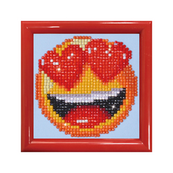 Diamond Dotz Smitten with Frame - Needleart World