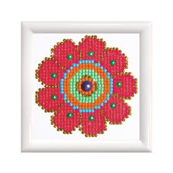 Diamond Dotz Flower Power with Frame - Needleart World