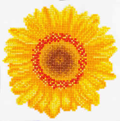 Diamond Dotz Happy Day Sunflower - Needleart World