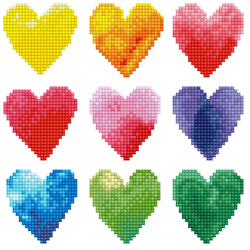 Diamond Dotz Love Rainbow - Needleart World