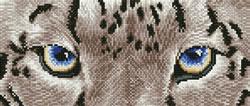 Diamond Dotz Snow Leopard Spy - Needleart World
