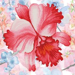 Diamond Dotz Sparkle Garden Crimson - Needleart World