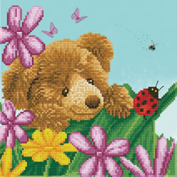 Diamond Dotz Honey Pot Bear Hide & Seek - Needleart World