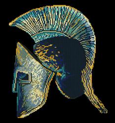 Diamond Dotz Spartan Symbol - Needleart World