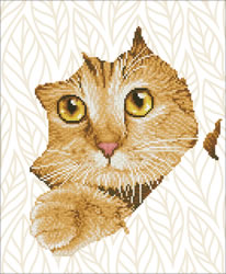 Diamond Dotz Kitten Peek - Needleart World